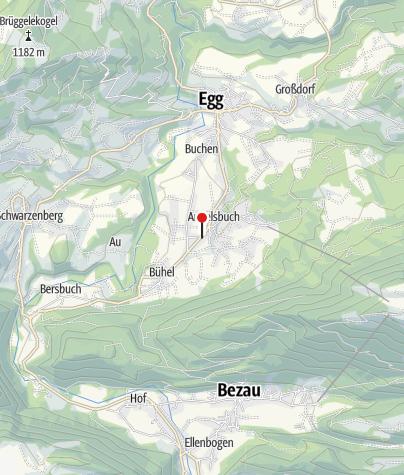 Karte / bahnhof andelsbuch