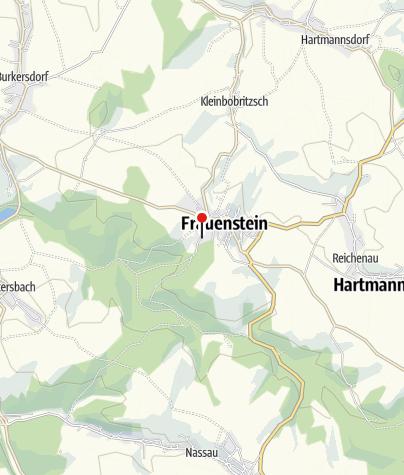 Karte / Jugendherberge Frauenstein