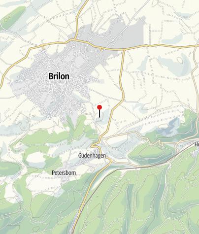 Karte / Jugendherberge Brilon
