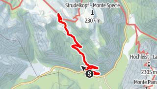 Mappa / Escursione estiva: Carbonin - Rifugio Vallandro