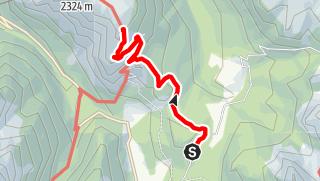 Mapa / Sommerwanderung: Antornosee (Misurina) - Monte Piano