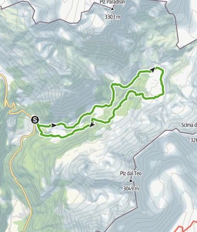 Map / 724 Val da Camp