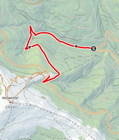 Map / 18 Wechselgraben Route