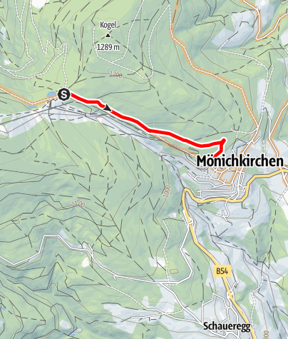 Mapa / Mönichkirchner Schwaig Route by Wexl Trails #17