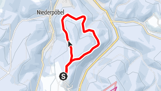 Karte / Winterwandern - Brandrundweg
