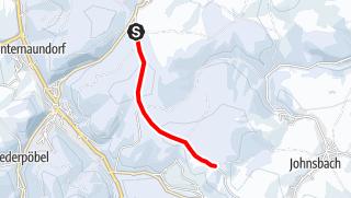 Karte / Winterwandern - Hochwaldstraße