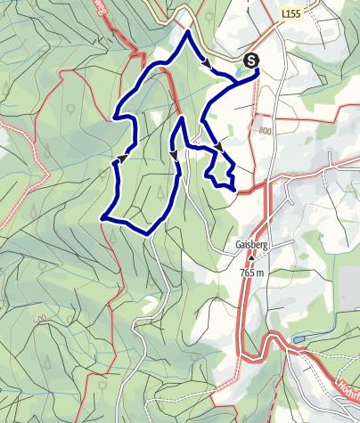 Karte / Solfelsenweg