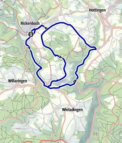 Karte / Steinbruch- und Murgtalweg