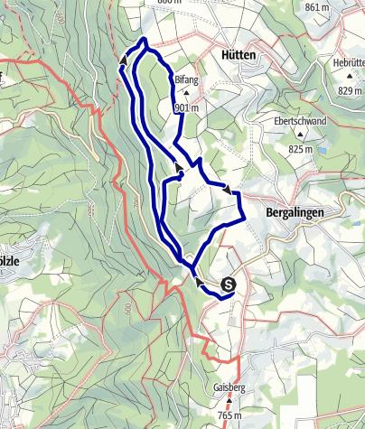 Karte / Wallmauerweg