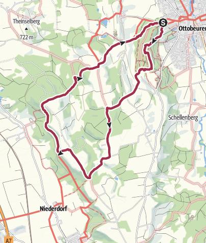 Karte / Ottobeuren-Geologische Orgeln-Wassertretanlage