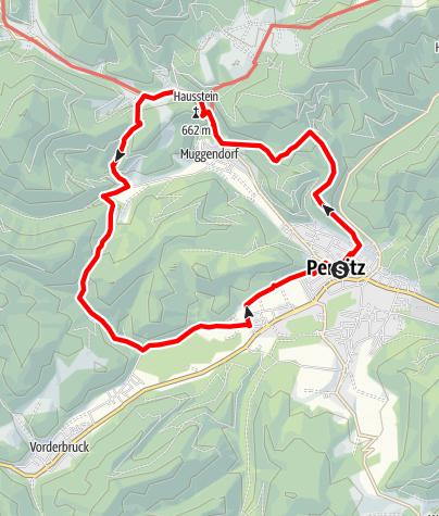 Térkép / Biedermeier Erlebnisweg Muggendorf