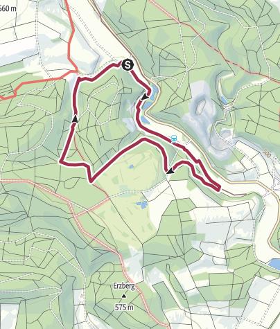 Karte / Rundweg Egau Zwing: durchs Egautal bei Neresheim und das Naturschutzgebiet Zwing