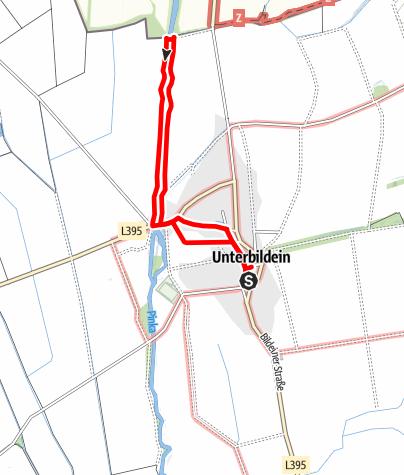 Karte / Grenzerfahrungsweg Bildein