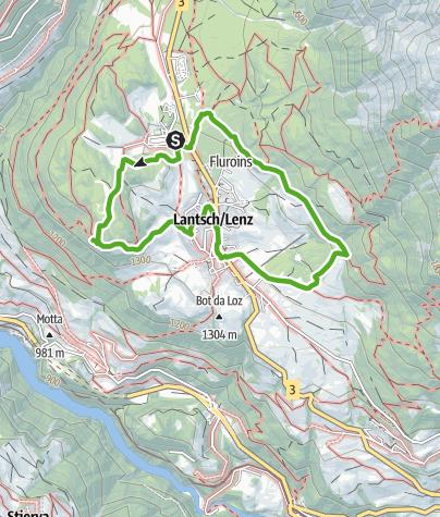 Map / Naturlehrpfad Lantsch/Lenz