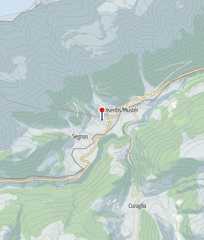 Karte / Parkplatz Talstation Luftseilbahn Disentis 3000