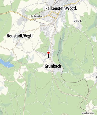 Karte / KISPI - Kinderspielhaus Grünbach