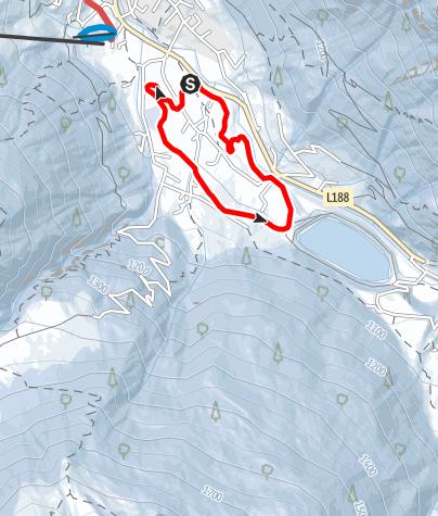 Karte / Nr. 15: Kleine Trantrauas Runde (klassisch)