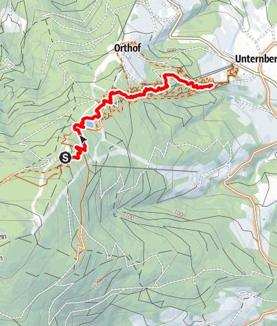 Map / 7 Singletrail