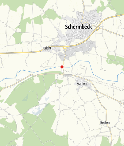 "Karte / Campingplatz ""Hohes Ufer"""