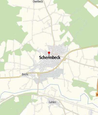 Karte / Geburtshaus des Dichters Gustav Sack