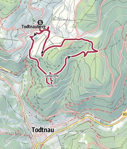 Karte / Geiskopf-Stübenwasen