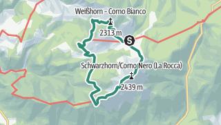 Cartina / Corno Nero e Corno Bianco