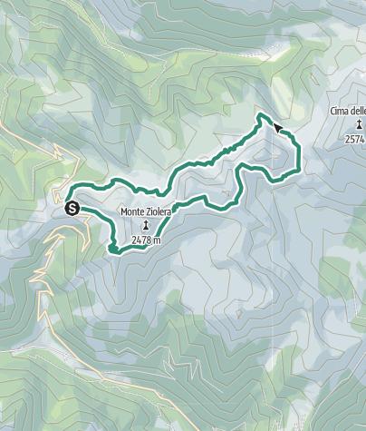 Karte / Buse See Wanderung
