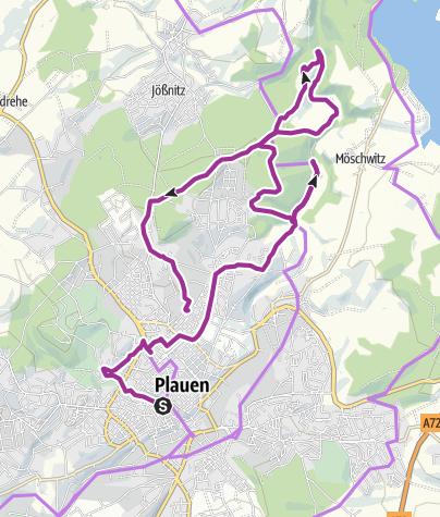 Karte / Plauen nach Feierabend