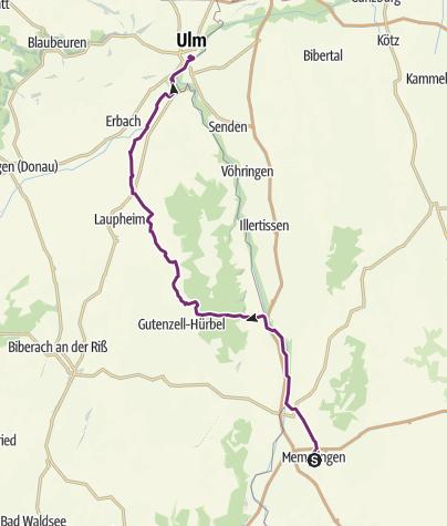 Karte / Memmingen-Ulm