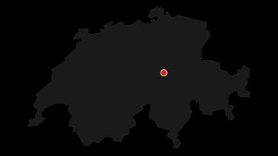 Karte / Rundweg vom Ratzi über das Geissgrätli zum Kinzigpass