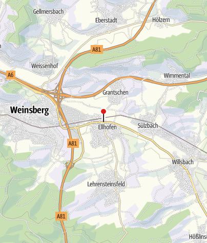 Karte / RadServiceStation Die Güldene Krone