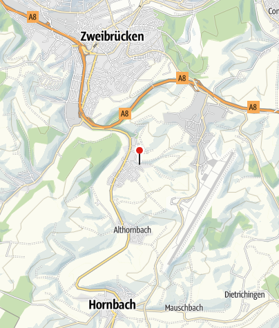 Karte / Waldhütte Tiefental