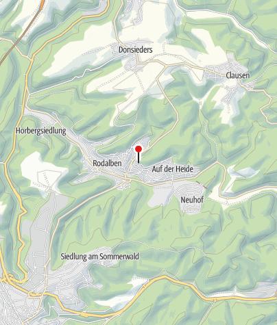 Map / PWV-Hilschberghaus