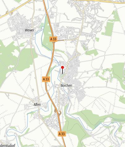 Karte / Mallinckrodthof Borchen
