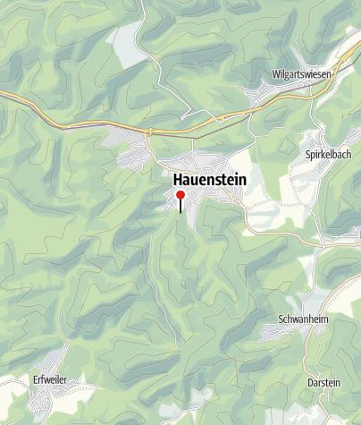 Map / Burghalder refuge keep