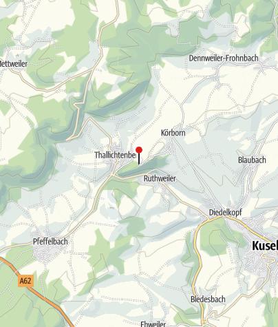 Karte / Wohnmobilstellplatz Burg Lichtenberg