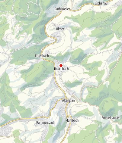 Karte / Gasthaus Born