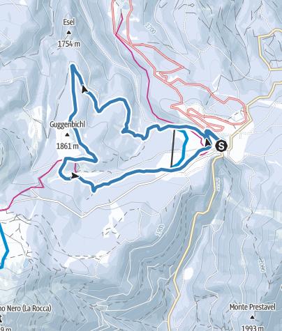 Karte / Auerleger