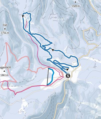 Karte / Liegalm