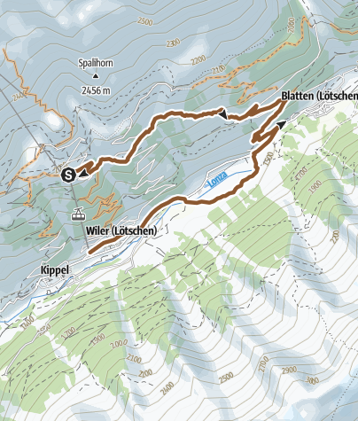 Carte / Breithorn Trail