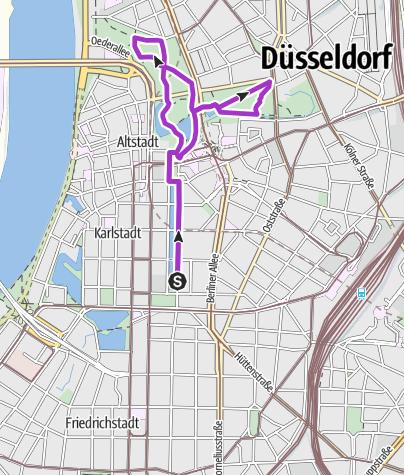 Karte / Erkunde den Herbst mit Black Diamond & Globetrotter Düsseldorf
