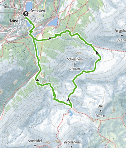 Map / 767 Alteinsee Schiesshorn