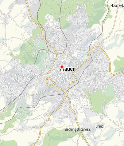 Karte / Vogtlandtheater