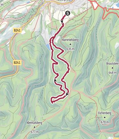 Karte /  Mit Cora auf dem Rammelsberg