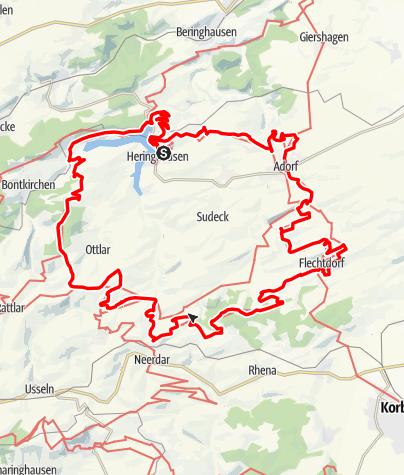 Map / Diemelsteig (Qualitätswanderweg am Diemelsee 2018)