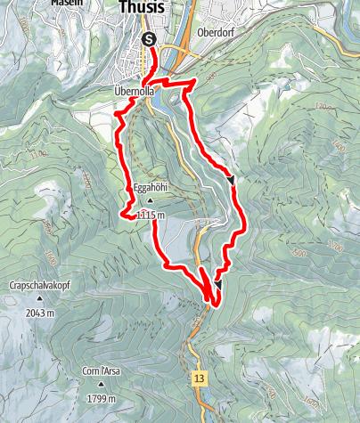 Map / Viamala Schlucht-Runde