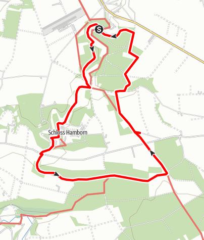 Karte / Alter Pilgerweg [Abkürzungsvariante]