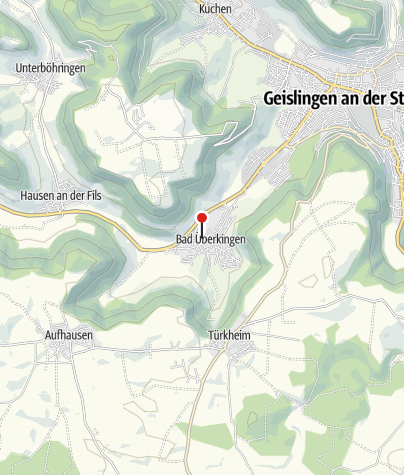 Karte / ThermalBad Überkingen