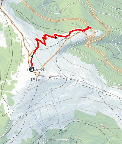 "Map / 23 Hochwexl Trail ""The WU"""