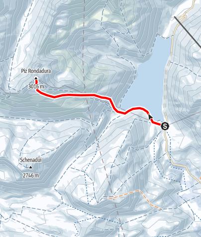 Map / Piz Rondadura